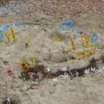 W Kunstwerke im Sand März14 1