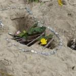 W Kunstwerke im Sand März14 2